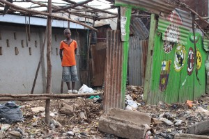 A destroyed home-Vincent Onyango
