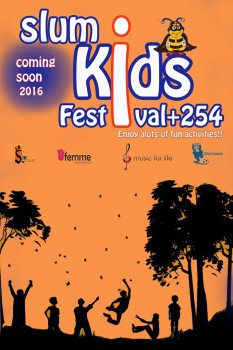 Slum Kids Festival Poster